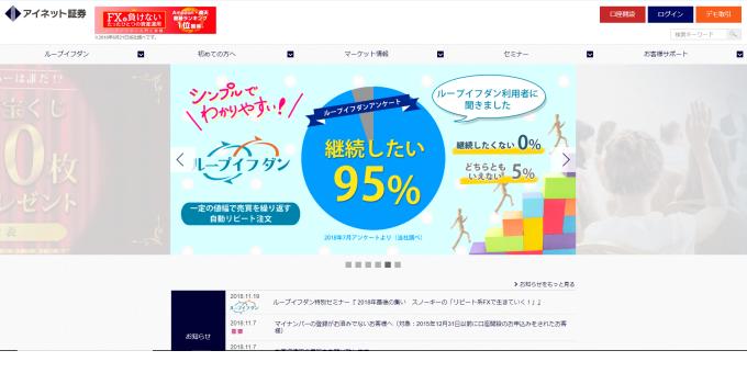 【FX業者】アイネット証券